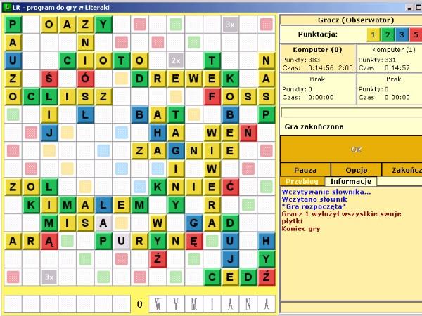 Literaki - Logiczne - Pobierz GRY na PC - gry do pobrania, gry600